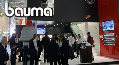 Lots of visitors at Bauma 2019